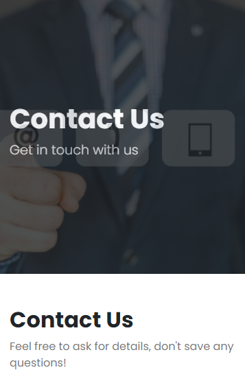 Contact Us Full Page