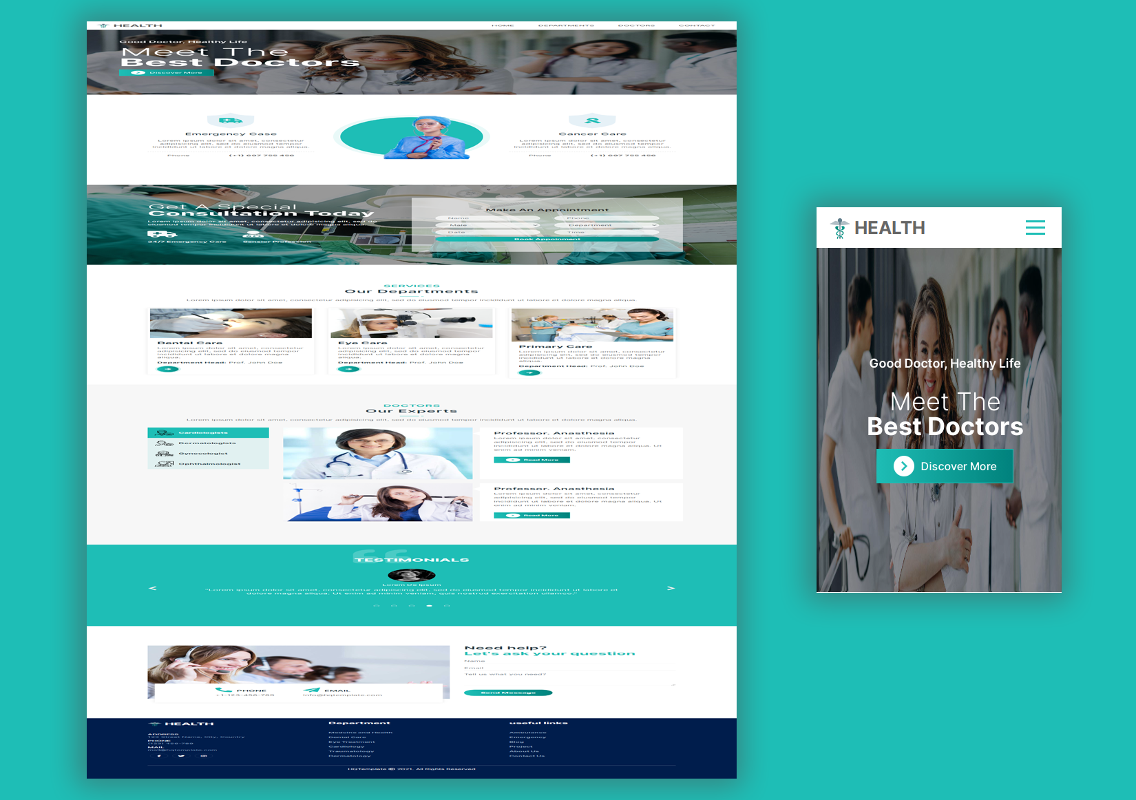 Medical & Health Template